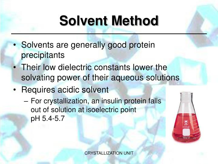 Solvent Method