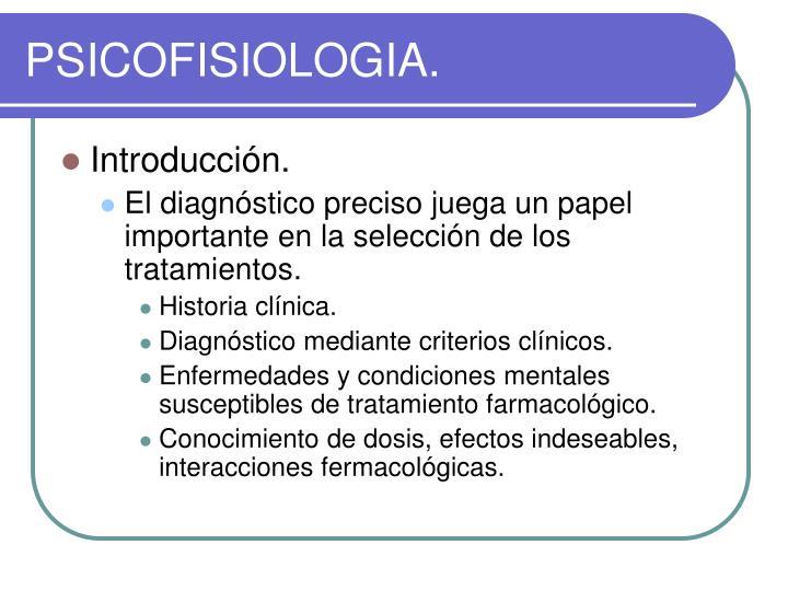 PSICOFISIOLOGIA.