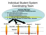 individual student system coordinating team1