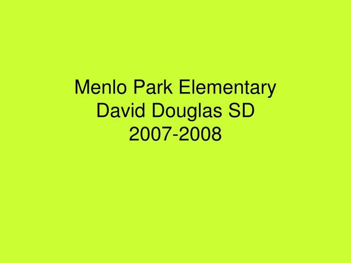 Menlo Park Elementary
