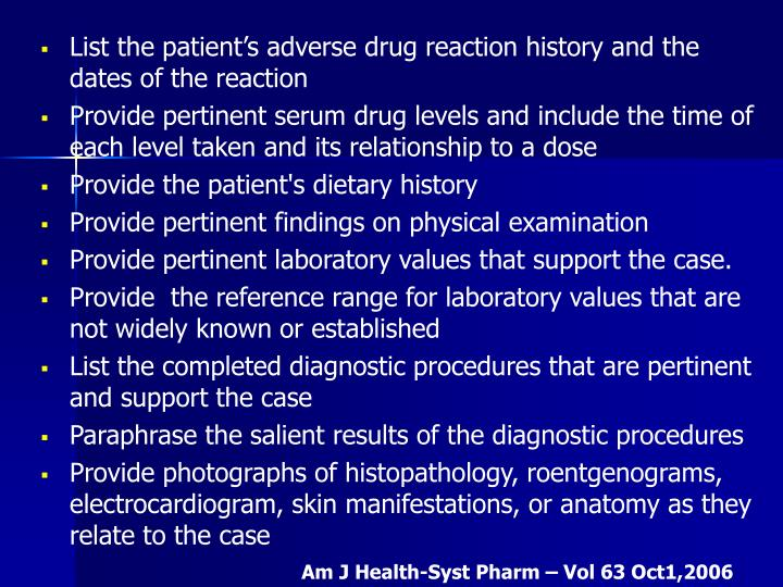 List the patient's adverse drug reaction history and the dates of the reaction