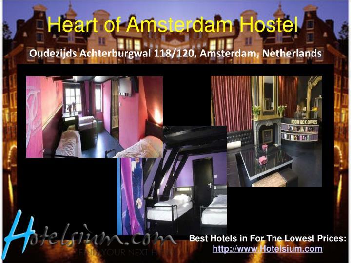 Heart of Amsterdam Hostel