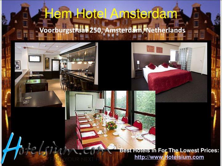 Hem Hotel Amsterdam
