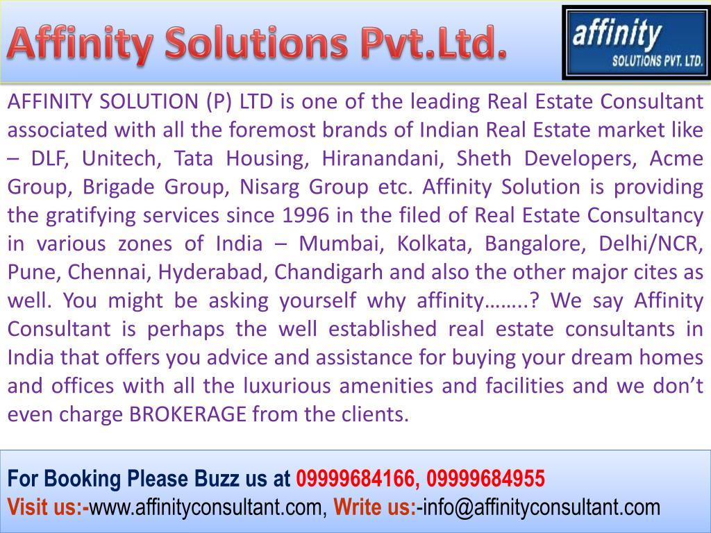 Affinity Solutions Pvt.Ltd.