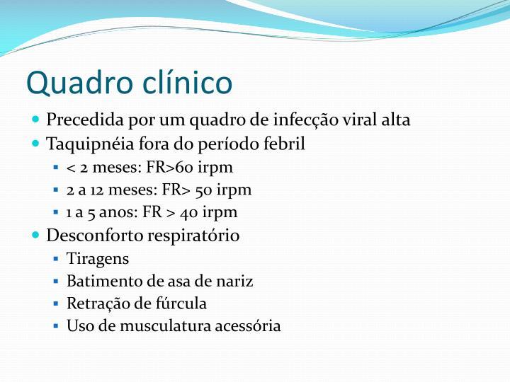 Quadro clínico
