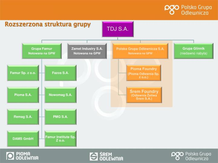 Rozszerzona struktura grupy