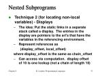 nested subprograms5