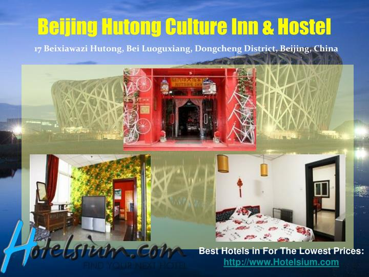 Beijing Hutong Culture Inn & Hostel