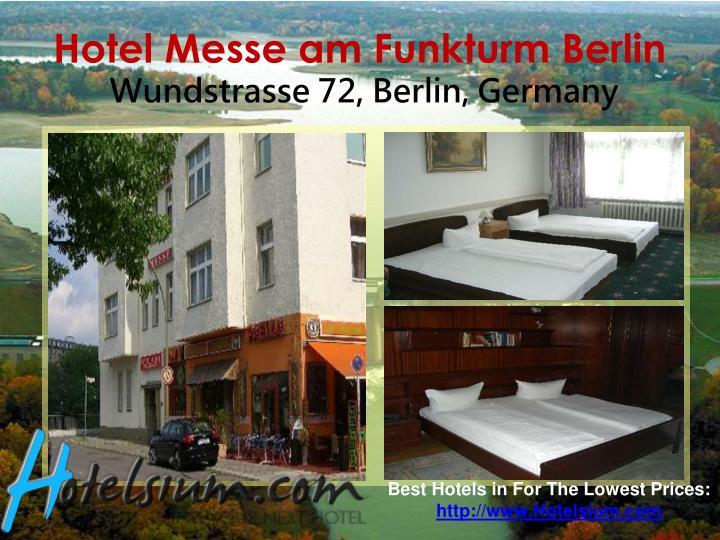 Hotel Messe am Funkturm Berlin