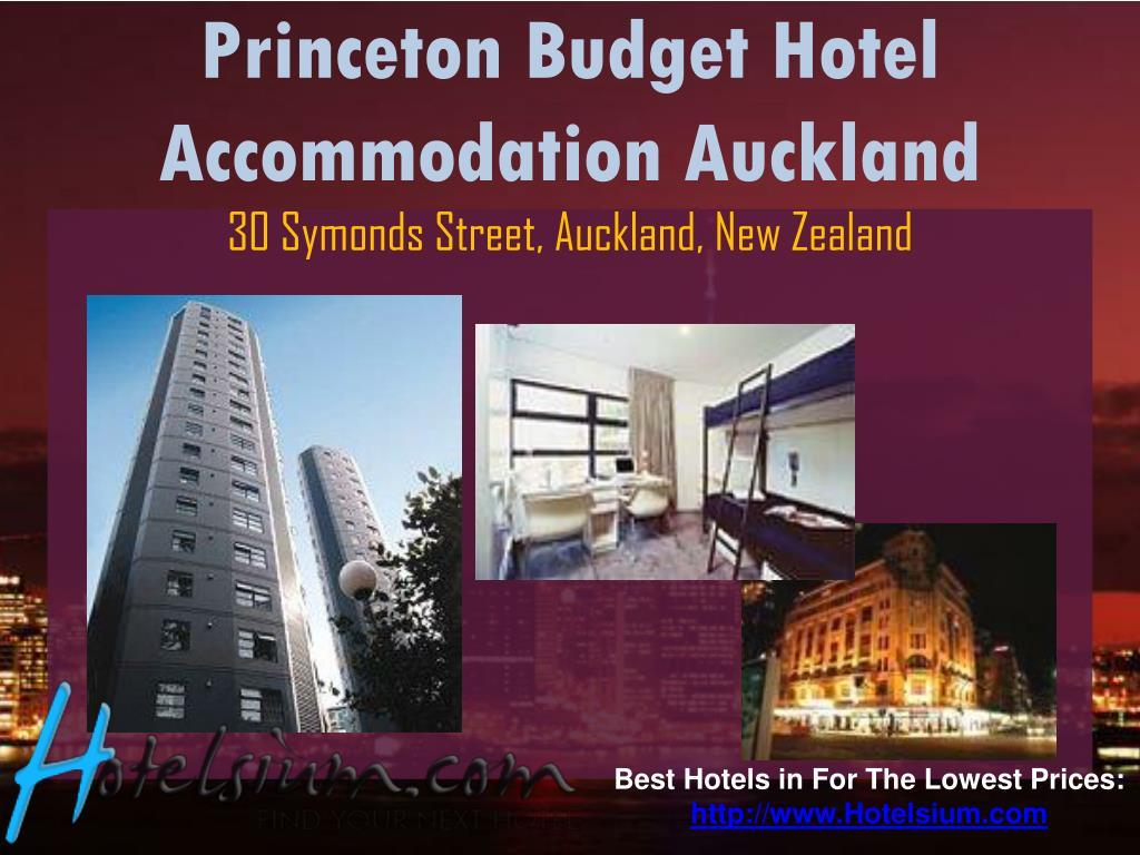 Princeton Budget Hotel Accommodation Auckland