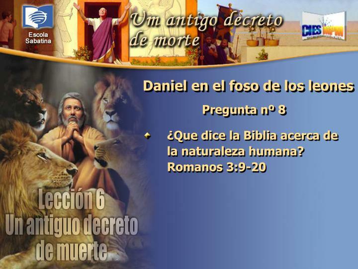 ¿Que dice la Biblia acerca de la naturaleza humana? Romanos 3:9-20
