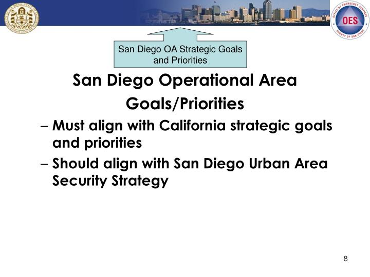 San Diego OA Strategic Goals