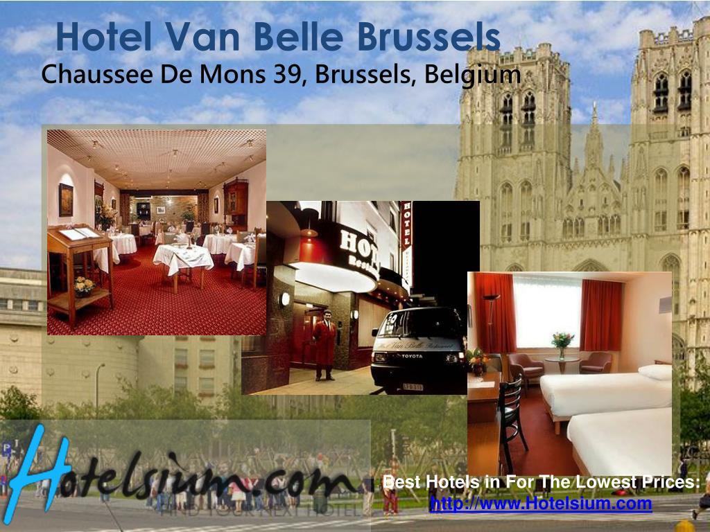Hotel Van Belle Brussels