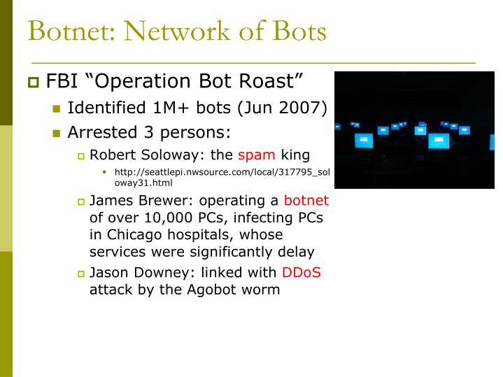 Botnet: Network of Bots
