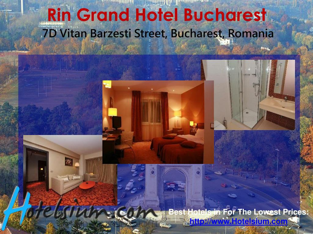 Rin Grand Hotel Bucharest