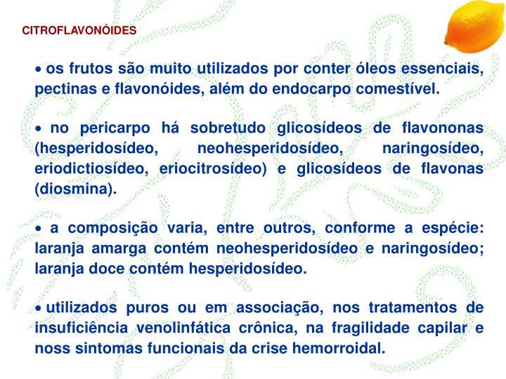 CITROFLAVONÓIDES