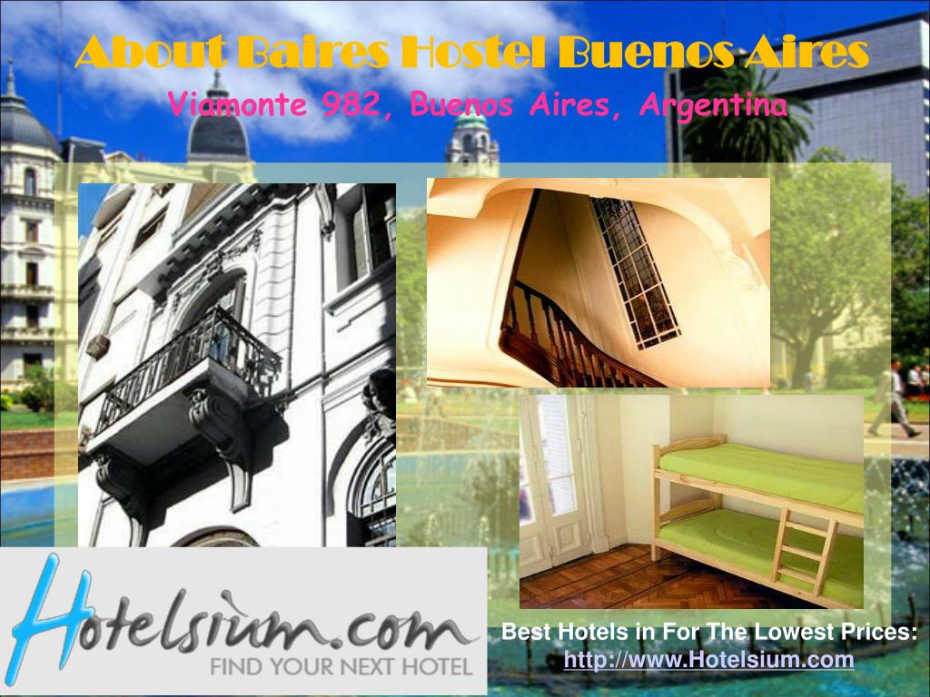 About Baires Hostel Buenos Aires