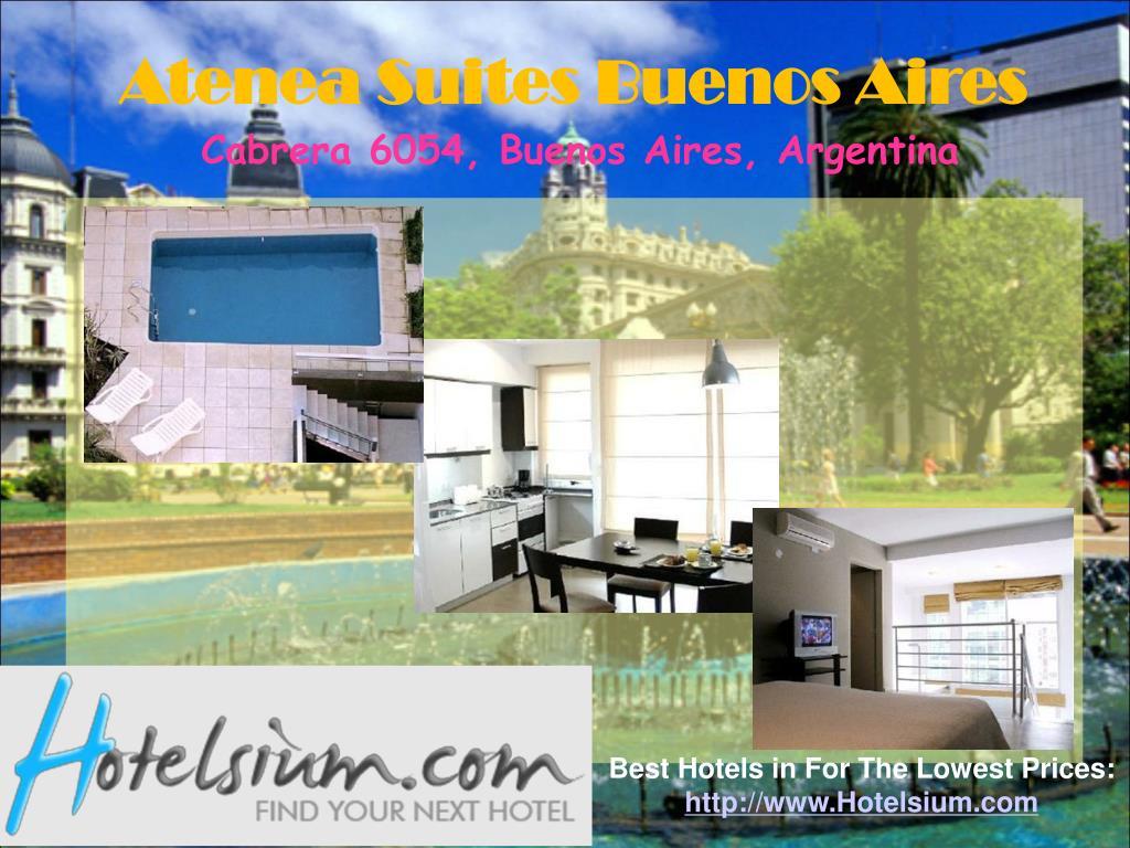 Atenea Suites Buenos Aires