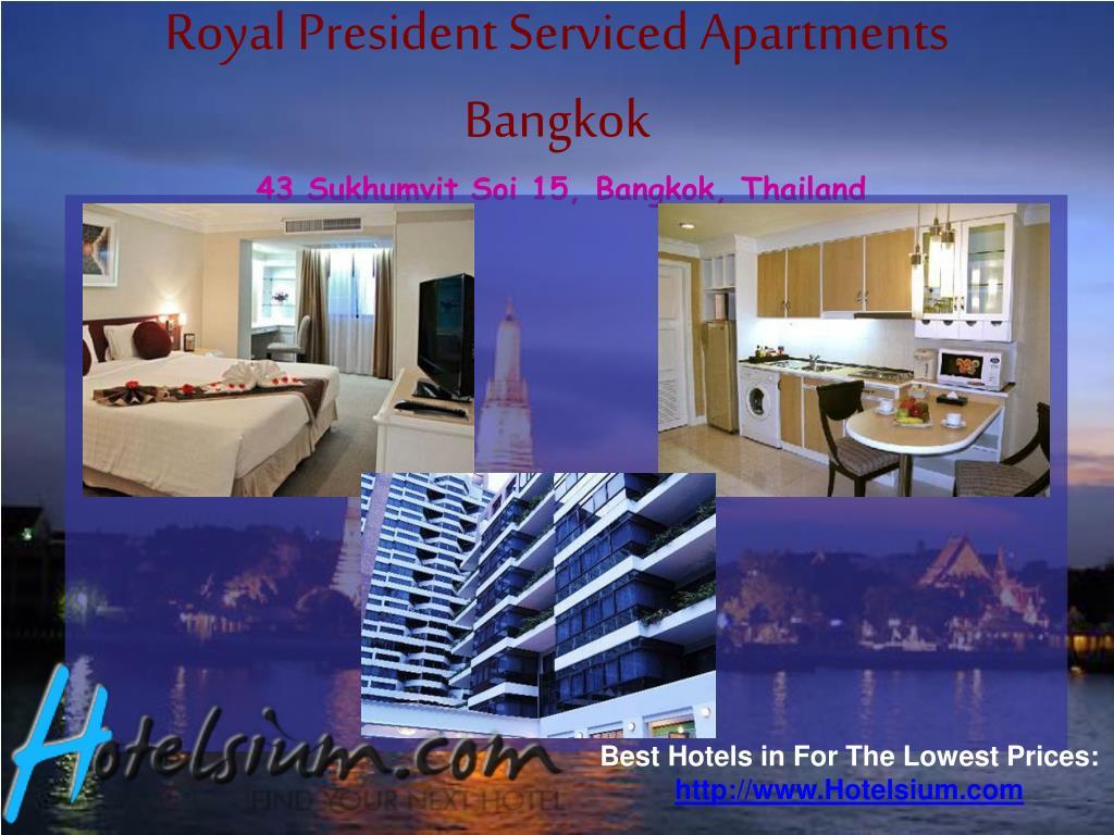 Royal President Serviced Apartments Bangkok