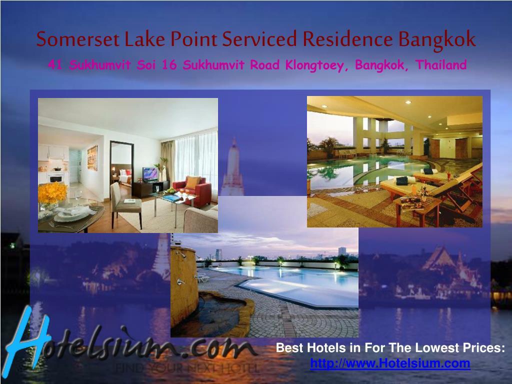 Somerset Lake Point Serviced Residence Bangkok