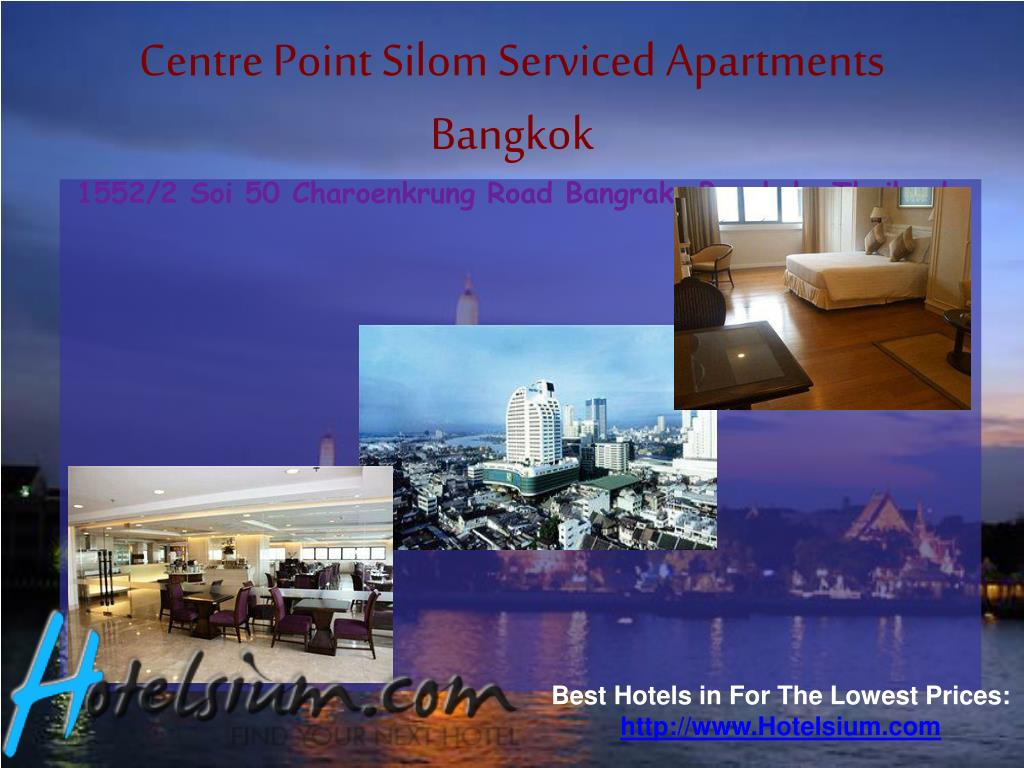 Centre Point Silom Serviced Apartments Bangkok