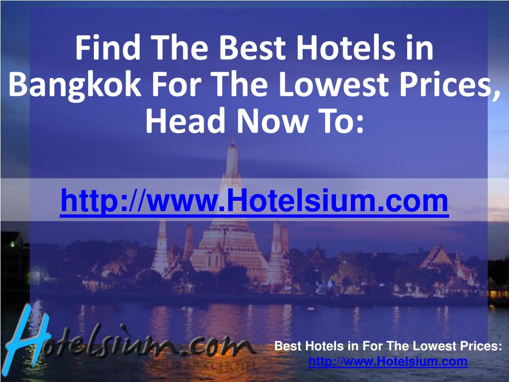 Find The Best Hotels