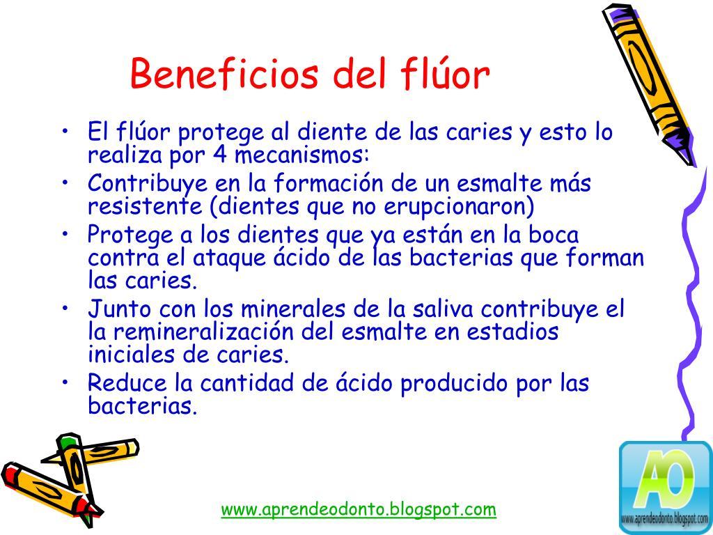 Beneficios del flúor