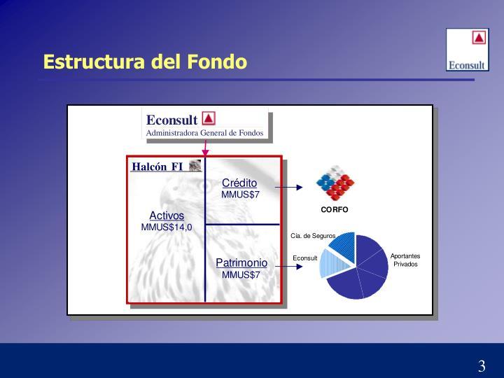 Estructura del Fondo