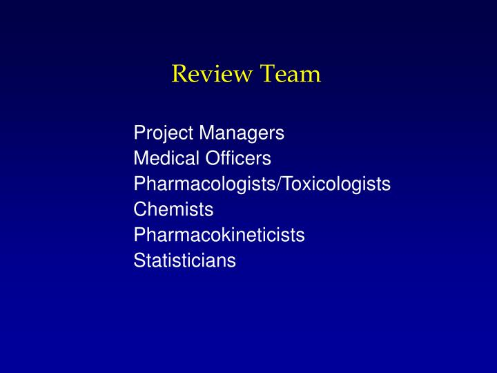 Review Team