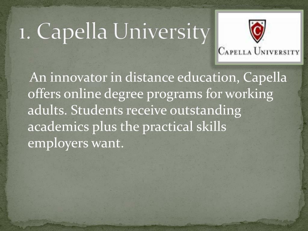 1. Capella