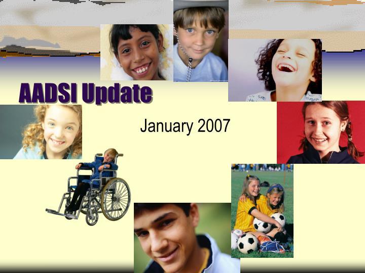AADSI Update