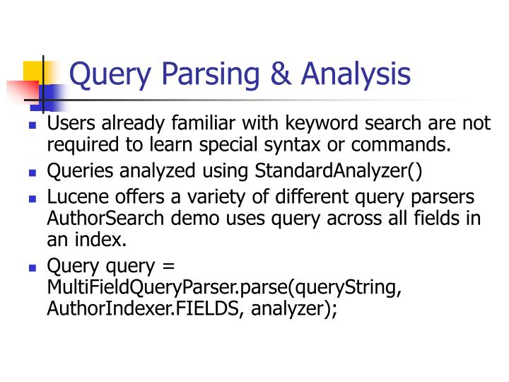 parse query relationship
