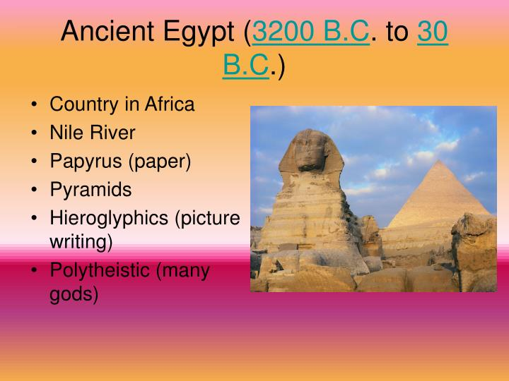 Ancient Egypt (