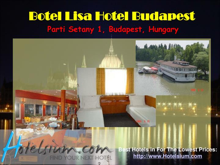 Botel Lisa Hotel Budapest