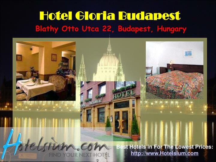 Hotel Gloria Budapest