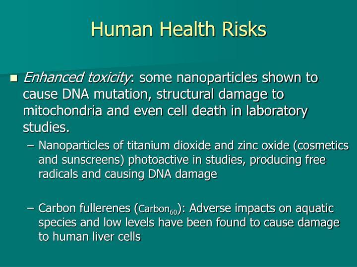 Human Health Risks