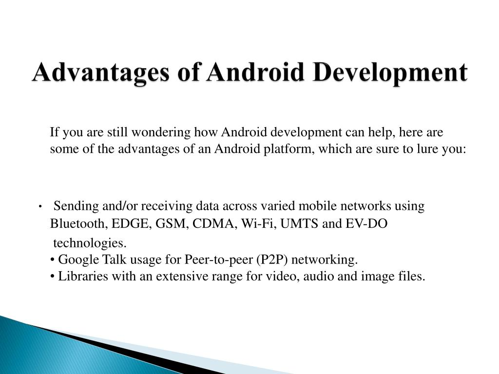 Advantages of Android Development