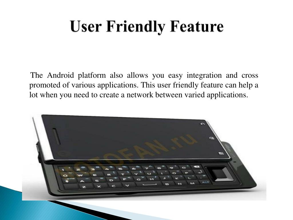 User Friendly Feature