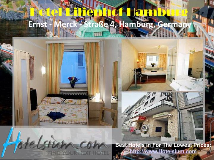 Hotel Lilienhof Hamburg