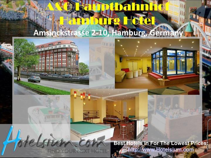 A&O Hauptbahnhof Hamburg Hotel