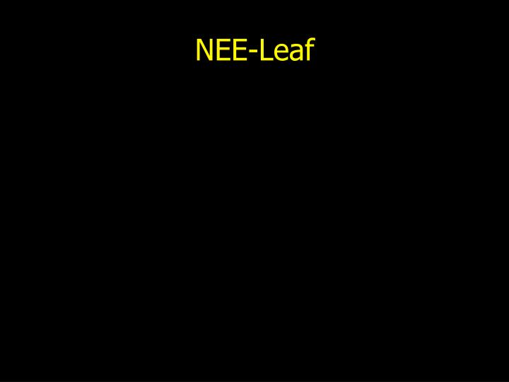 NEE-Leaf