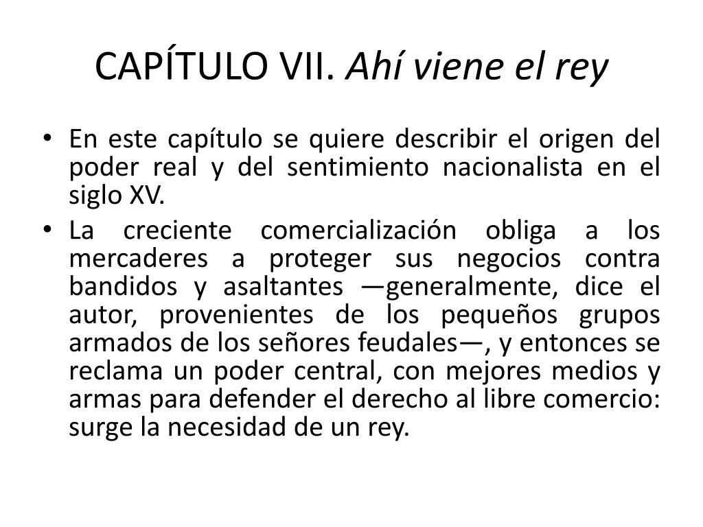 CAPÍTULO VII.
