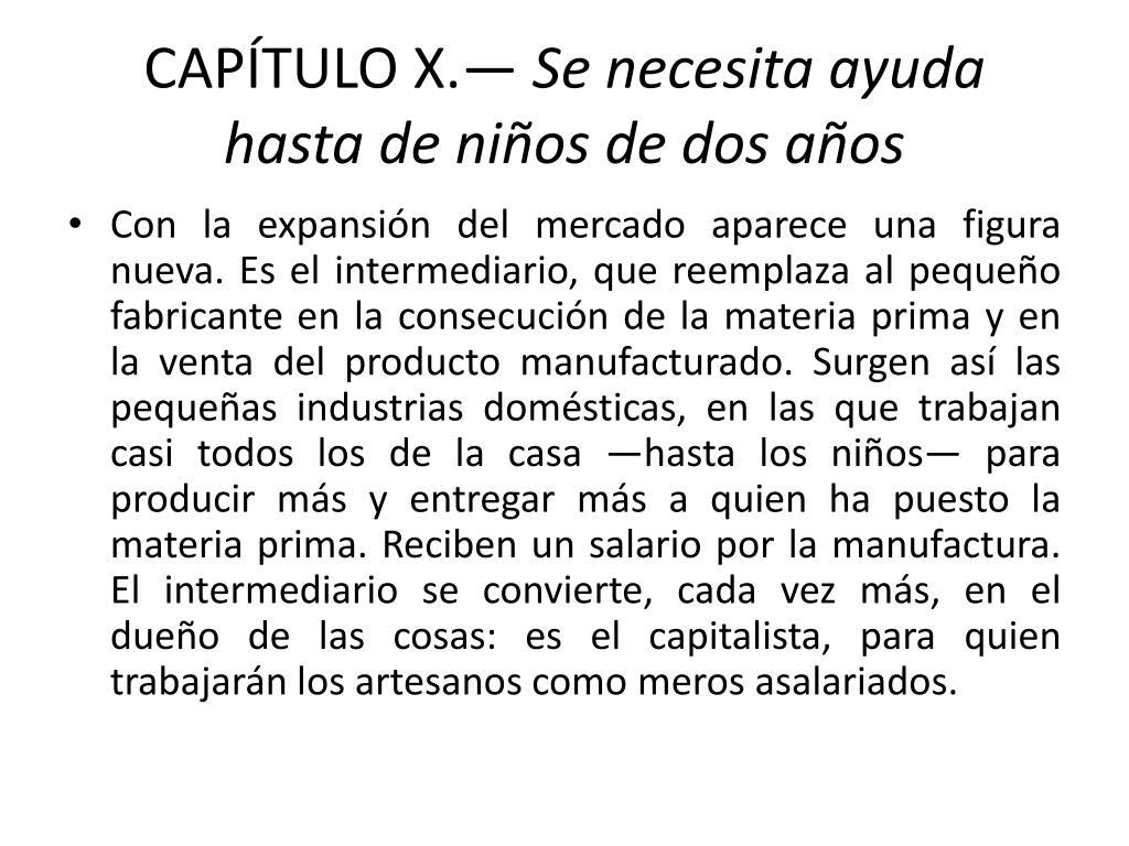 CAPÍTULO X.—