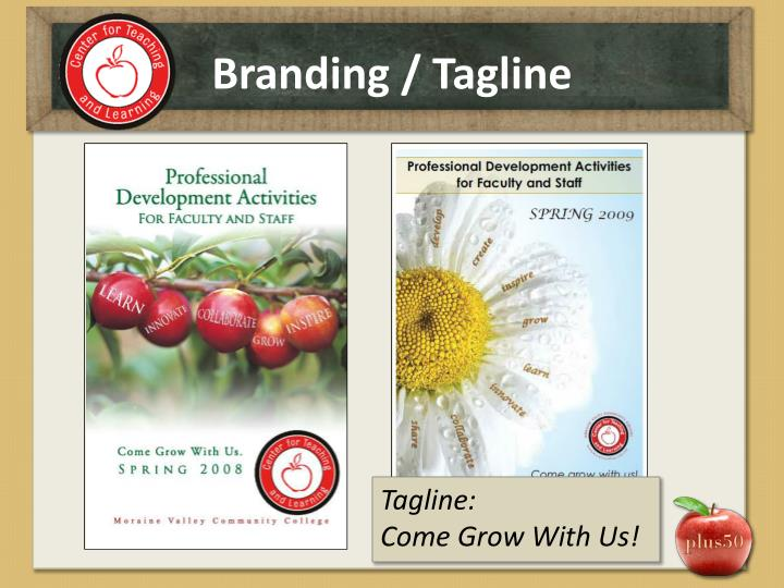 Branding / Tagline