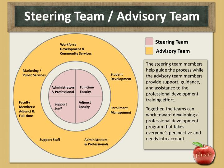 Steering Team / Advisory Team