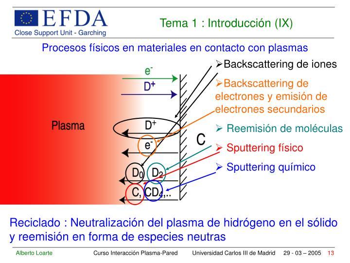 Backscattering de iones