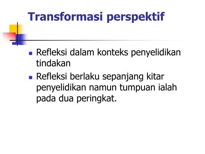 Transformasi perspektif