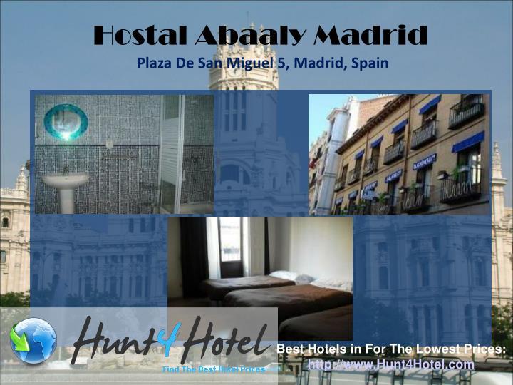 Hostal Abaaly Madrid