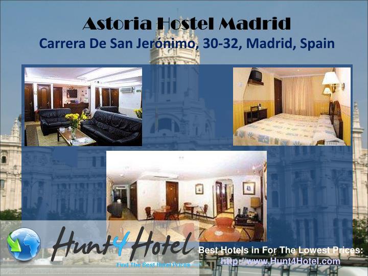 Astoria Hostel Madrid