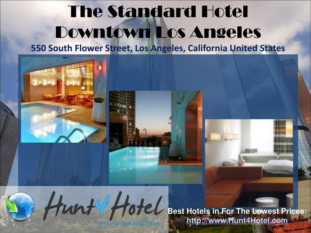 The Standard Hotel Downtown Los Angeles